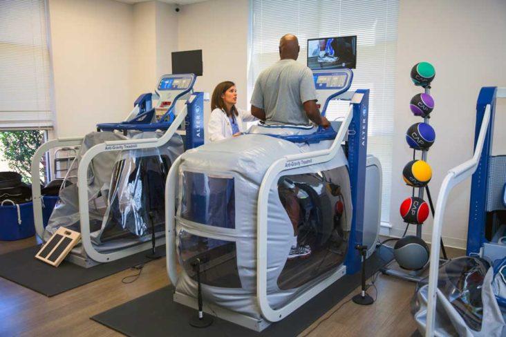 Anti-Gravity Rehabilitation Promotes Progress and Hope